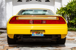 1997 Acura NSX in Spa Yellow over Black