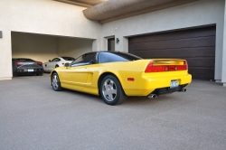 1991 Acura NSX in Spa Yellow over Black