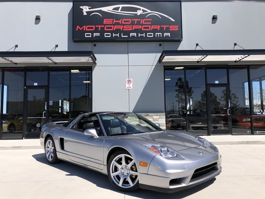 2005 Acura NSX in Sebring Silver over Black