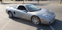 2005 Acura NSX in Sebring Silver over Silver
