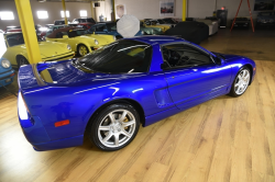 2005 Acura NSX in Long Beach Blue over Blue