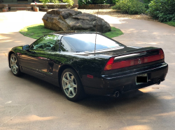 2005 Acura NSX in Berlina Black over Black