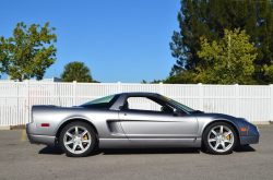 2002 Acura NSX in Sebring Silver over Black