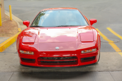 1996 Acura NSX in Formula Red over Tan
