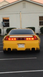 2000 Acura NSX in Spa Yellow over Black