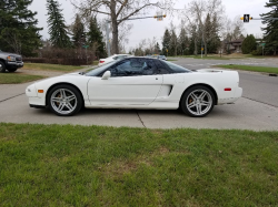1994 Acura NSX in Grand Prix White over Other