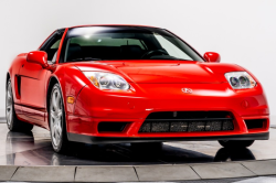2003 Acura NSX in New Formula Red over Black