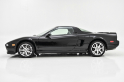 2001 Acura NSX in Berlina Black over Black
