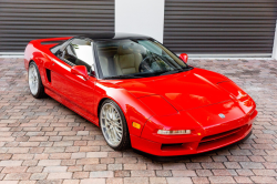 1994 Acura NSX in Formula Red over Tan
