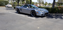 2004 Acura NSX in Sebring Silver over Silver