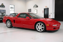 1997 Acura NSX in Formula Red over Tan