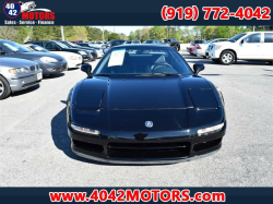 1992 Acura NSX in Berlina Black over Black