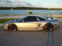 2004 Acura NSX in Sebring Silver over Black