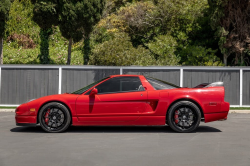 2004 Acura NSX in New Formula Red over Black