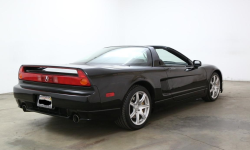 2004 Acura NSX in Berlina Black over Black