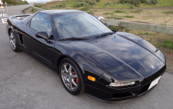 1999 Acura NSX in Berlina Black over Black