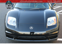 2002 Acura NSX in Berlina Black over Black
