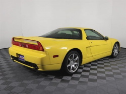 2002 Acura NSX in Spa Yellow over Black