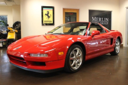 1998 Acura NSX in Formula Red over Tan