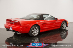 1994 Acura NSX in Formula Red over Black