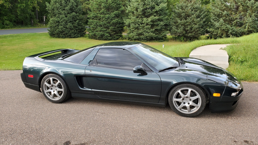 1994 Acura NSX in Green over Tan