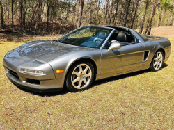 1997 Acura NSX in Kaiser Silver over Black