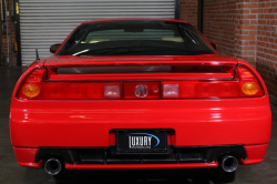 2004 Acura NSX in New Formula Red over Tan