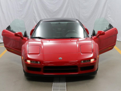 1999 Acura NSX in New Formula Red over Black
