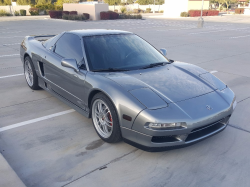 1999 Acura NSX in Kaiser Silver over Black