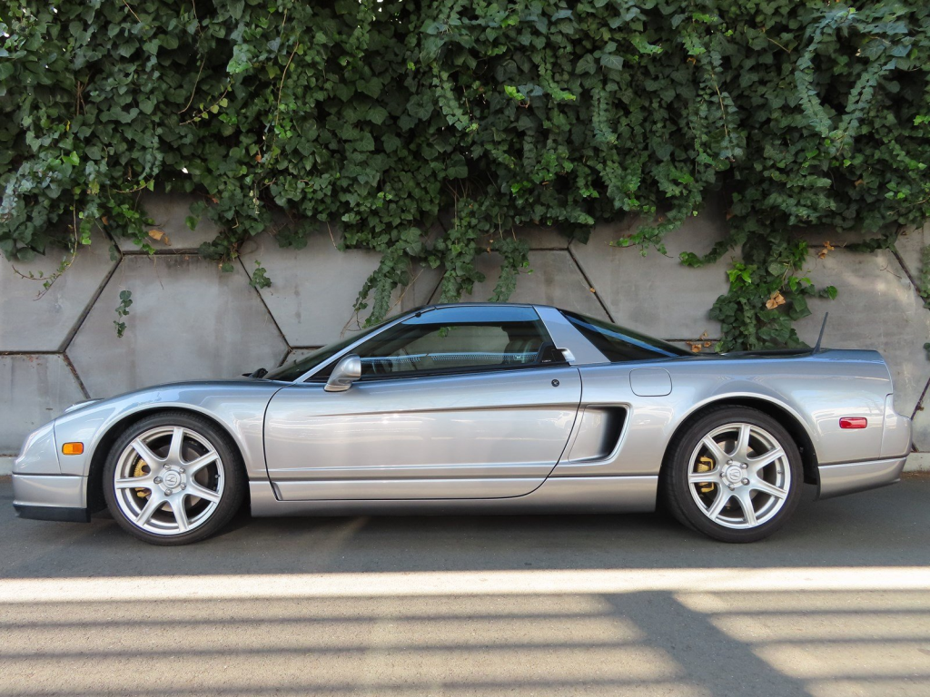 2002 Acura NSX in Sebring Silver over Silver