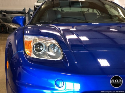 2002 Acura NSX in Long Beach Blue over Blue
