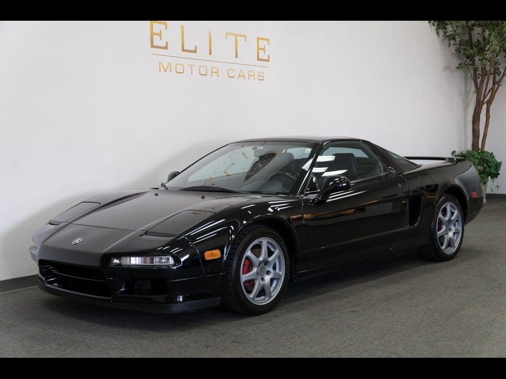 1996 Acura NSX in Berlina Black over Black