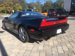 1996 Acura NSX in Berlina Black over Tan