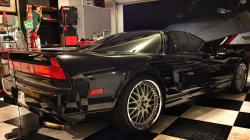 1997 Acura NSX in Berlina Black over Black