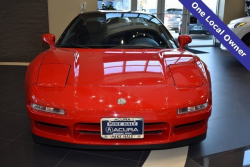 1991 Acura NSX in Formula Red over Black