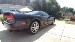 1995 Acura NSX in Berlina Black over Black