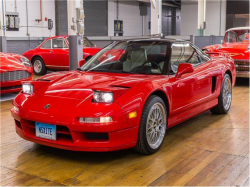 1993 Acura NSX in Formula Red over Ivory