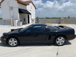 1993 Acura NSX in Berlina Black over Black