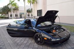 1994 Acura NSX in Berlina Black over Black