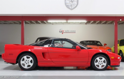 1993 Acura NSX in Formula Red over Black