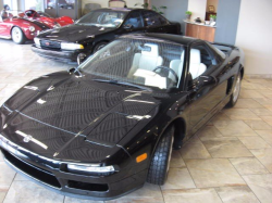 1992 Acura NSX in Berlina Black over Ivory