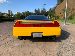1992 Acura NSX in Spa Yellow over Black