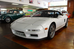 1992 Acura NSX in Grand Prix White over Black