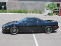 1991 Acura NSX in Berlina Black over Black