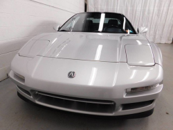 1991 Acura NSX in Sebring Silver over Black